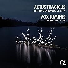 Cantates de Bach BWV 106 « Actus Tragicus », 150, 131, 12