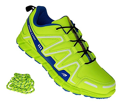 Bootsland 457 Neon Turnschuhe Sneaker Sportschuhe Herren, Schuhgröße:43