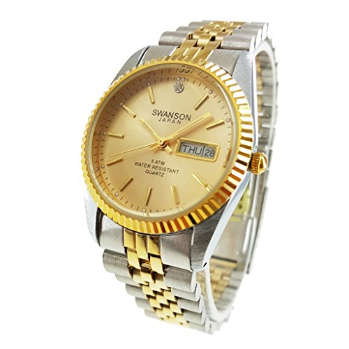 swanson-japan-mens-two-tone-day-date-watch-gold-dial