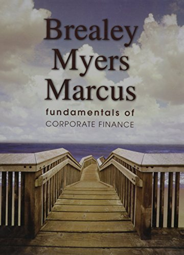 Fundamentals of Corporate Finance by Stewart C. Myers, Alan J. Marcus Richard A. Brealey (2007-08-01)