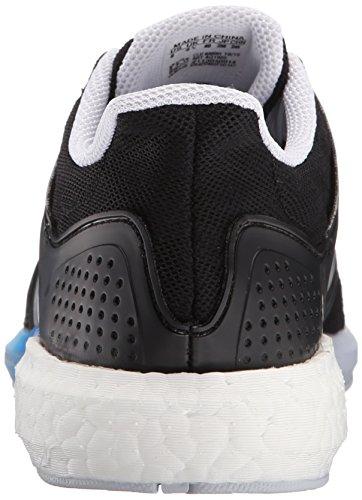 Adidas Performance Solar Rnr scarpa da corsa, nero / argento / blu, 5 M Us Black/Silver/Blue