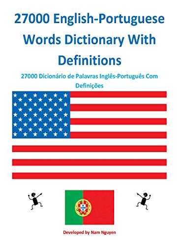 27000 English-Portuguese Words Dictionary With Definitions (English Edition)