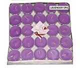 Numen Spark Purple Lavender Scented Tea-Light Candle For Decoration(Pack Of 50)
