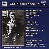 Fritz Kreisler - The Complete concerto recordings vol.2