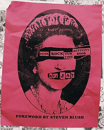 Punk Rock Fun Time Activity Book por Aye Jay