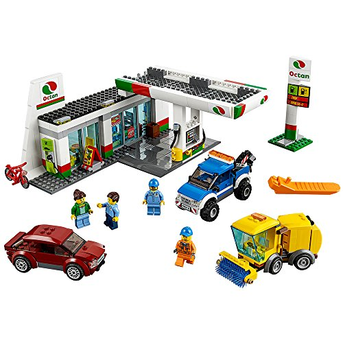 Lego city town 60132 service station building kit (515 piece) by lego