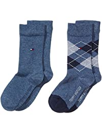 Tommy Hilfiger TH KIDS ORIGINAL ARGYLE SOCK 2P - Calcetines Niños