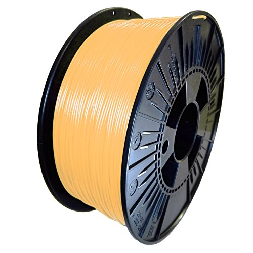 DDDMATERIAL PLA Filament - Made in Germany - 1,75 mm (+/- 0,05 mm) Honigmelone Orange transluzent 3D Drucker Material 3D Stift