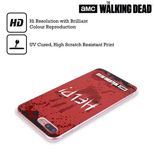 Offizielle AMC The Walking Dead Rick Questions Zitate Soft Gel Hülle für Apple iPhone 6 / 6s Help