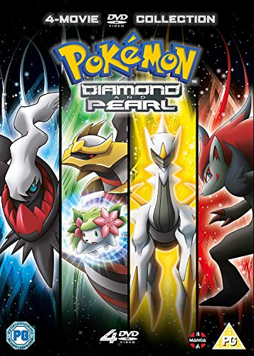 Pokemon Movie: Diamond & Pearl Collection [4 DVDs]