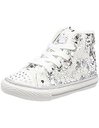 Hacer Un Pedido Primigi Tessuto Pizzo Bianco 14545 Sneakers Alta (27) Gran Venta En Línea Barata AMVJHRE6