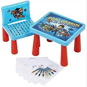 chaise table pat patrouille jeux et jouets. Black Bedroom Furniture Sets. Home Design Ideas
