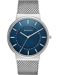 Skagen Herren-Armbanduhr Analog Quarz Edelstahl SKW6234