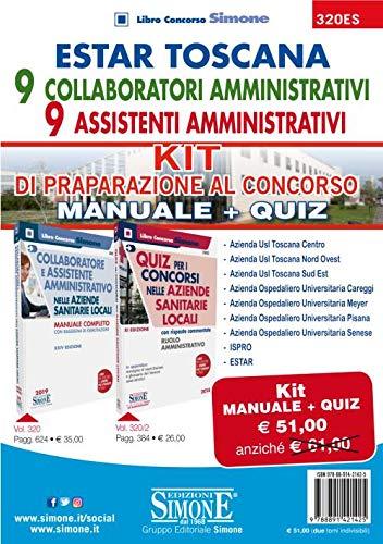 ESTAR Toscana - 9 Collaboratori Amministrativi