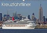 Kreuzfahrtliner (Wandkalender 2015 DIN A3 quer): Fotografien von Kreuzfahrtschiffen (Monatskalender, 14 Seiten)