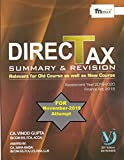Direct Tax Summary By CA Vinod Gupta For CA Final November 2019 Attempt