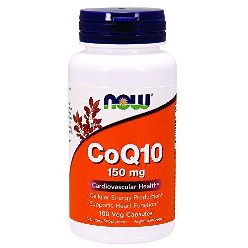 Now Foods I CoQ10 (Coenzym Q10) 150mg I Vegetarisch I Vegan I 100 Kapseln