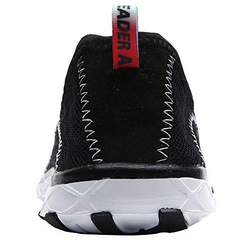 Aleader  Aqua Shoes, Chaussures aquatiques pour homme Noir