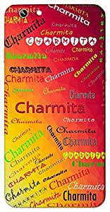 Charmita (Add Meaning) Name & Sign Printed All over customize & Personalized!! Protective back cover for your Smart Phone : Google Nexus-6