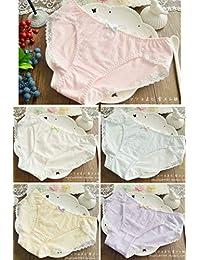 WXNLEAI Calzoncillos de algodón con cintura baja de Japón, ropa interior japonesa, tela japonesa