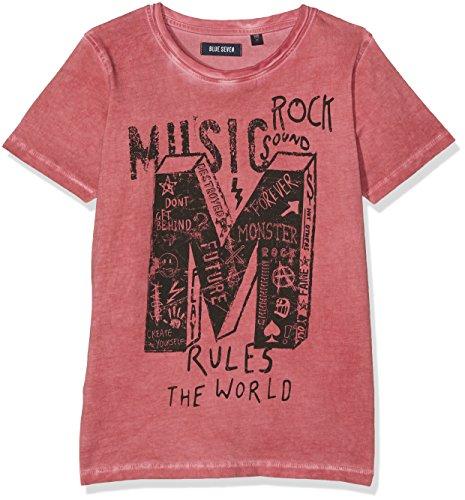 Blue Seven Jungen T-Shirt 602566 X, Rot (HL Rot ORIG 303), 140 (T-shirt Pigment-gefärbtes Aus)