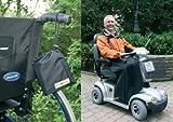Orgaterm Regenbeinschutzdecke mit Tasche Rollstuhldecke Beindecke für Rollstuhlfahrer