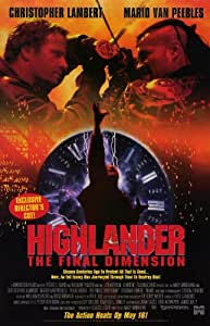 Highlander 3: La dimension Finale Poster Movie B 27,9x 43,2cm–28cm x 44cm Christopher Lambert Mario Van Peebles Deborah Kara Unger Mako
