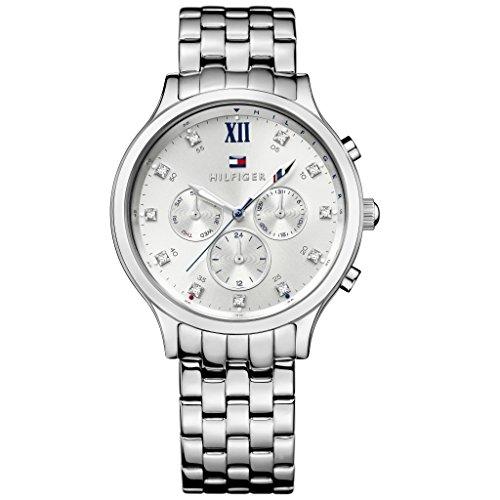 Tommy Hilfiger Damen-Armbanduhr Analog Quarz Edelstahl 1781610