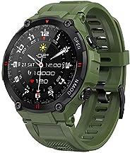 Smartwatch EIGIIS, Orologi Sportivi Tattici Militari Impermeabili Tracker di Attività All'aperto con Chiam