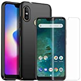 MYLB Xiaomi Mi A2 Lite Screen Protector with case,[3 Pack]