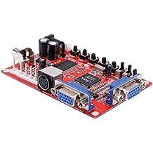 Gazechimp 1 Pieza GBS-8100 VGA a CGA Convertidor de Alta Definición Nuevo