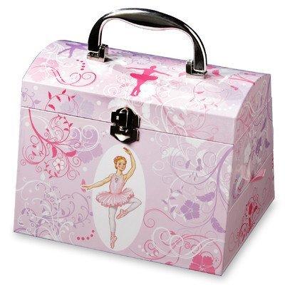 Twirls and Swirls Ballerina Musical Jewelry Box by The San Francisco Music Box Company