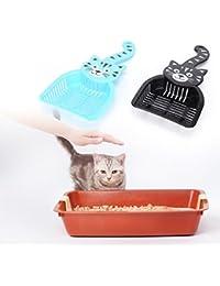 Tradico® New Cute Scoop Cat Litter Pet Plastic Dog Scooper Cleaning Tool Litter Props