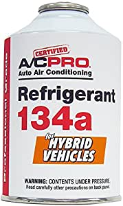 A/C PRO R134a Refrigerant Refill For Hybrid Vehicles (12 oz)