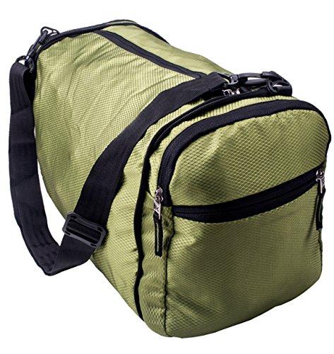 Killer Foldable Travel Luggage, Sports, Gym Dual Purpose Bag (P Green)
