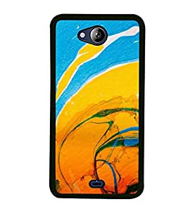 PrintVisa Beautiful Canvas High Gloss Designer Back Case Cover for Micromax Canvas Play Q355