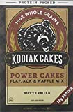 Gâteaux de Kodiak - Puissance gâteaux protéine emballé Flapjack & Waffle Mix grains entiers au babeurre - 20 once.