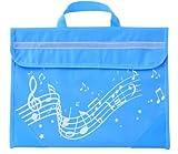 Musicwear: Sacoche De Musique Portée Onduleuse (Bleue Ciel) Accessoire
