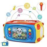 NextX Jouet Musical pour Bébés avec Microphone et USB Centre d'activités Multi-Fonctions pour Enfants Cadeau de Noel