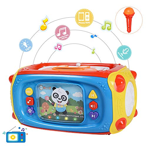 NextX Jouet Musical pour Bébés avec Microphone et USB...