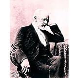 Wee Blue Coo Vintage Portrait Fedecki Composer Peter Tchaikovsky Wall Art Print Mur Décor 30 x 41 cm