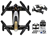 Syma X9 Air-Ground Flying Car With 360 Degree 3D Flips Function 2.4G 4CH 6-Axis Gyro RC Quadcopter (Black Version) HTUK® by Syma