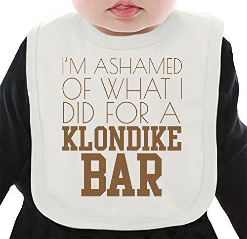 im-ashamed-of-what-i-did-for-a-klondike-bar-funny-babero-organico-medium
