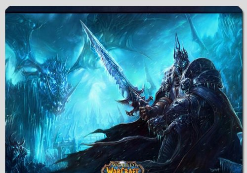 7 Weapons World of Warcraft/ WOW Arthas Mouse Pad 3 (World Of Warcraft Mouse Pad)