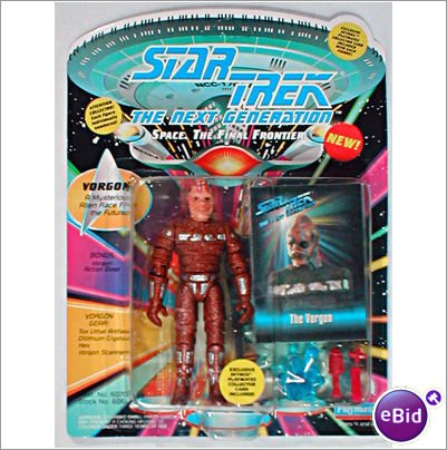 Star Trek The Next Generation Vorgon 4 inch Action Figure by Star Trek