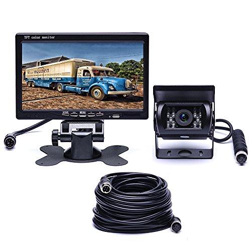 Podofo Kit de Caméra de Recul Etanche 7 'TFT LCD Moniteur...
