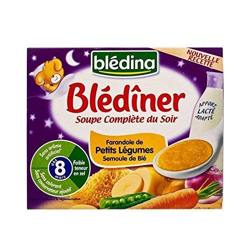 Blédina Blediner Soupe Légumes Et Semoule 2 X 25Cl