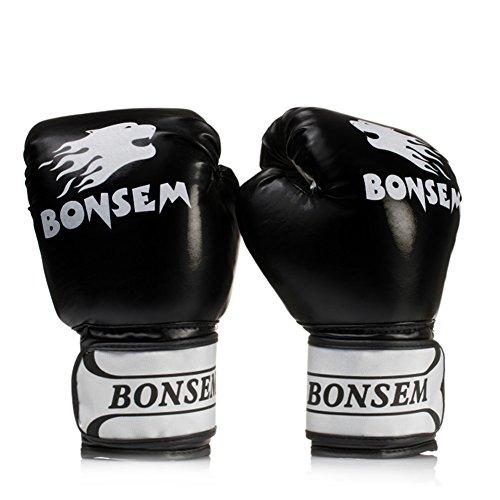 Dedo completo guantes boxeo guantes perforación guantes