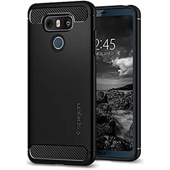 lg phone black. lg g6 case, spigen® [rugged armor] resilient [black] rugged armor lg phone black