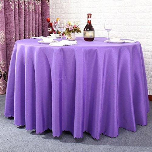 BSNOWF- Nappes Table de salle à manger Miroir de table carré Table de salle à manger Table à manger ronde piquenique Peut être personnalisé Taille facultative ( Couleur : #7 , taille : Round-200cm )